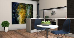 Kleur bepalen in de keuken